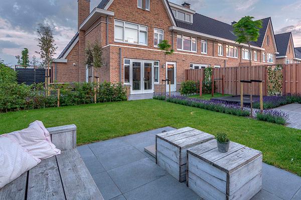 Moderne tuin roald tuindesign